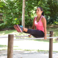 L-sit street workout