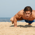 plank with knee bends - BLACKDAY