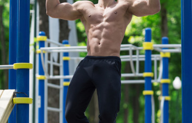 Muscle ups street workout