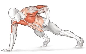 One-Arm-Push-Up
