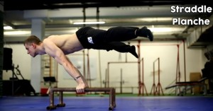 Straddle Planche - Street workout