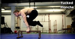 Tucked Planche - street workout