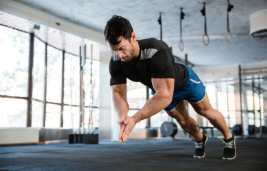 clapping push-up street workout