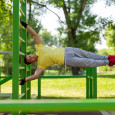 Human Flag Street Workout