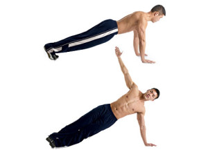 T-push up street workout