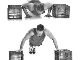 push-up onto box